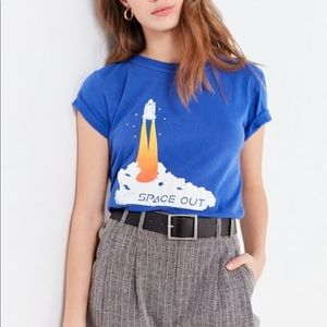 Urban Outfitters Graphic Space Tee